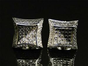White-Gold-Finish-Round-Cut-3d-Black-and-white-Diamond-Kite-Stud-Earrings-8-MM