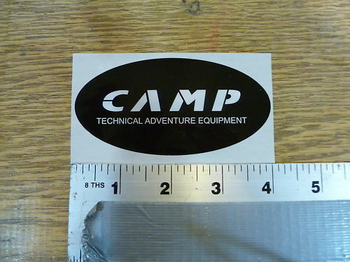 Camp USA Oval Sticker Decal