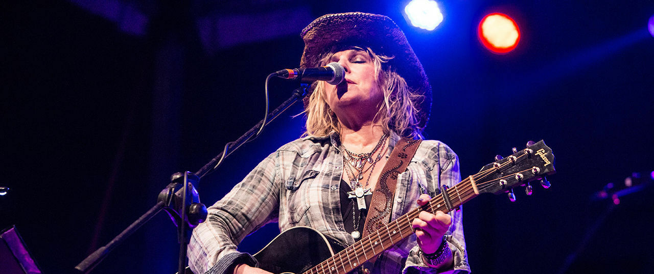 Lucinda Williams with Steve Earle and Dwight Yoakam