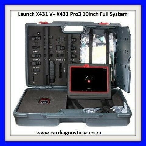 LAUNCH X431 V+ 10 INCH TABLET + 2 YEARS FREE UPDATES!!