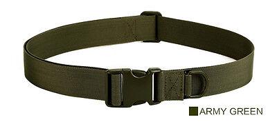 TACVASEN Heavy Duty Adjustable Tactical Belt Quick Release Military Waistband
