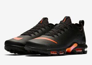 Nike Air Max Plus TN SE Black Total Orange | Footshop