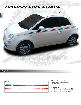 FIAT 500 2012-2019 GRAPHIC Kit Decals Emblems Trim 1753 or 1754 For