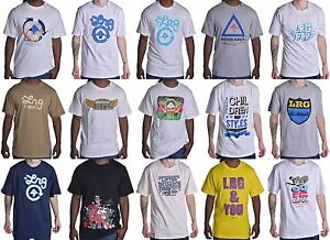 LRG-Lifted-Research-Group-Men-039-s-Various-Mix-Match-Tee-Shirt-Choose-Color-amp-Size