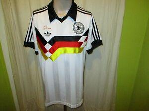 Deutschland-034-DFB-034-Adidas-Retro-Weltmeisterschaft-Sieger-Trikot-1990-Gr-M-TOP