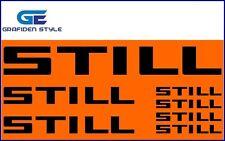 7 Stück STILL - Gabelstapler Aufkleber - Sticker - Decal !