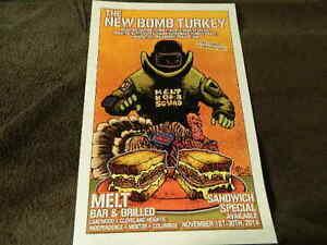 11-2014-034-The-New-Bomb-Turkey-034-MELT-BAR-amp-GRILLED-Poster