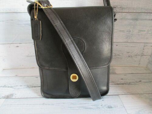 Vintage Coach Bonnie Cashin Black Leather Pre-Cre… - image 1