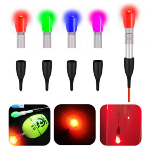 2x Fish Float Light Tail LED Light Bobber Tail Electronic Lamp Terminal Tackle