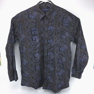 Roper-Paisley-Pearl-Snap-Western-Shirt-Size-2XLT