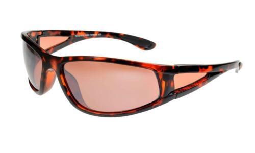 Case i*sunglasses One-Eighty Wraparound Polarised Sunglasses Copper Lenses ML
