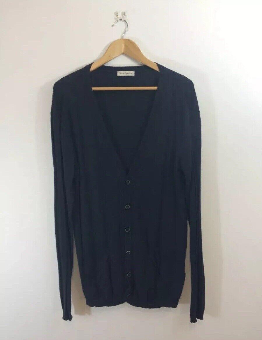 Oliver Spencer Cotton  Cardigan Sweater Jumper Medium