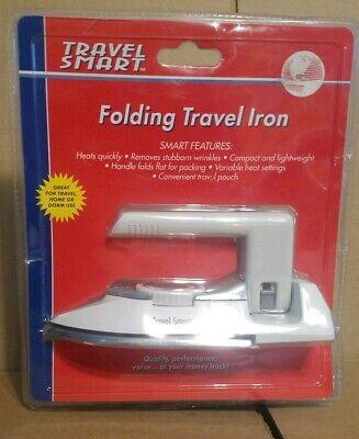 New Sealed Franzus Travel Smart Steam Iron Foldable Handle 120/240v Dual Voltage Onderscheidend Vanwege Zijn Traditionele Eigenschappen
