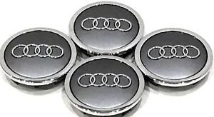 4pcs Set 70mm Wheel Center Hub Cap Fit for Audi A3 A4 A6 Audi RS 4