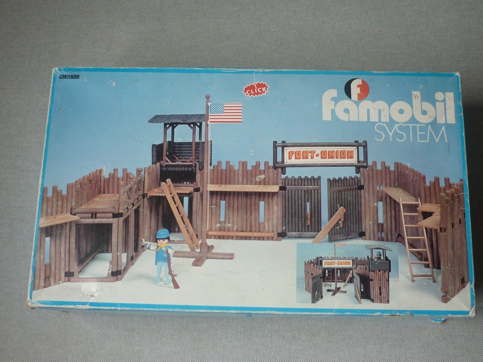 ganancia cero FAMOBIL SYSTEM 3420 del 1974 FORT FORT FORT UNION  tienda de descuento