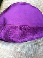 Womens Koppen Köppen Purple Fleece Beanie Hat