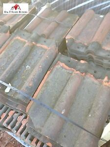 Reclaimed Second Hand Clay Double Roman Roofing Tiles Ebay