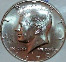 1971-P KENNEDY HALF DOLLAR IN MINT CELLO FROM MINT SET H-5-17