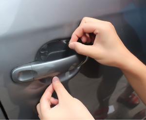 Exact Fit Invisible Auto Door Handle Paint Scratch Protective Film Sheets 20pcs