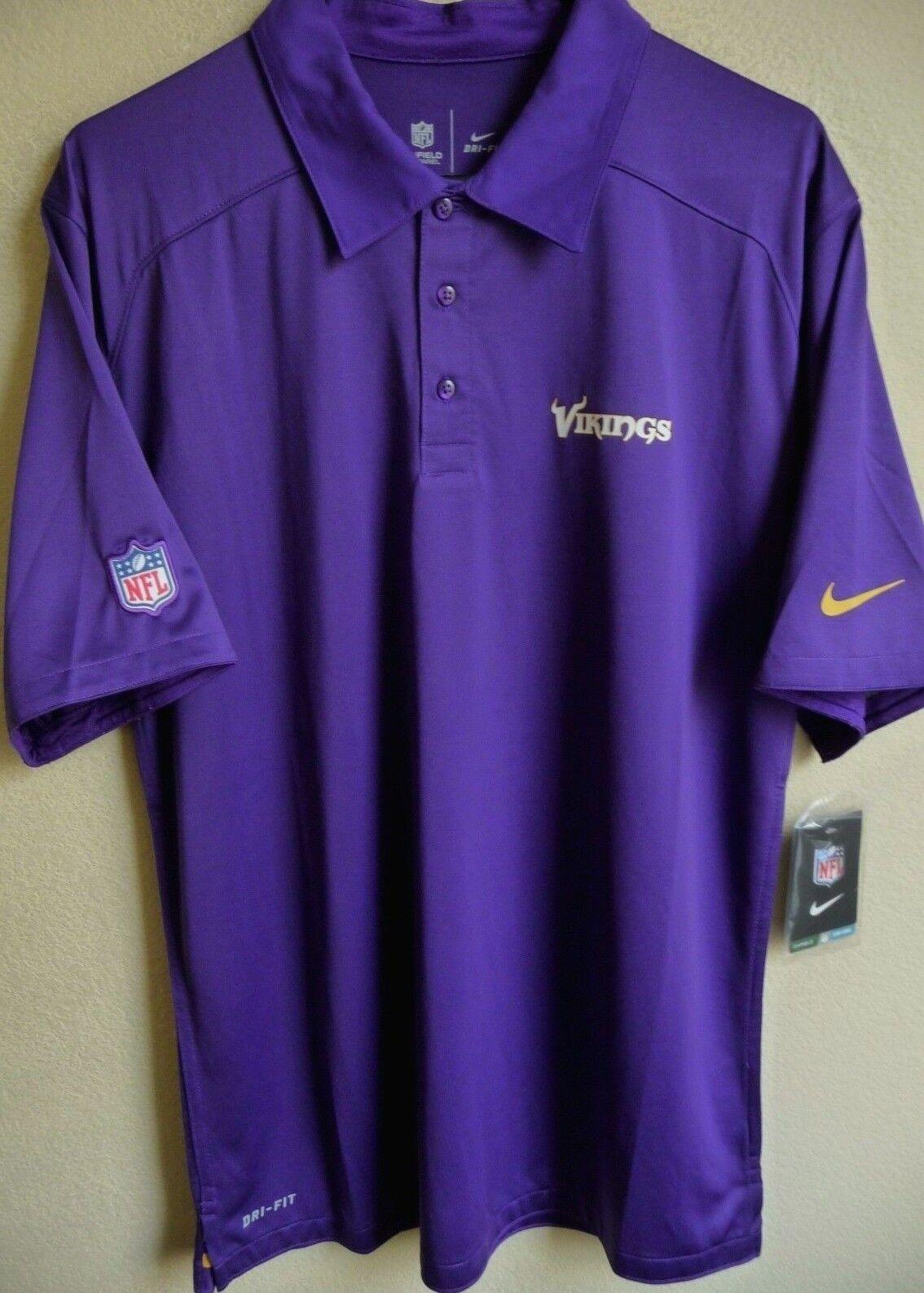 Minnesota Vikings Polo Shirts Summer Cook