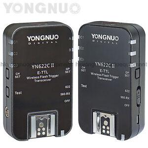 Yongnuo-Updated-YN-622C-II-HSS-TTL-Wireless-Flash-Trigger-1-8000-for-Canon