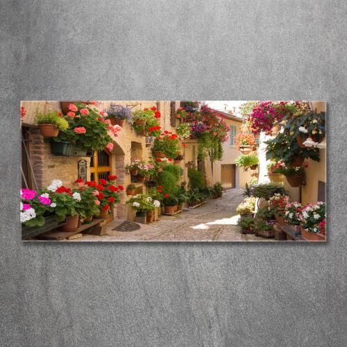 Glas-Bild Wandbilder Druck auf Glas 120x60 Sehenswürdigkeiten Reizende Gasse