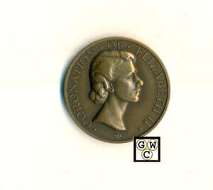 Elizabeth II Norwood Jewish Orphanage 1953 Coronation Medal in Bronze,35mm(OOAK)