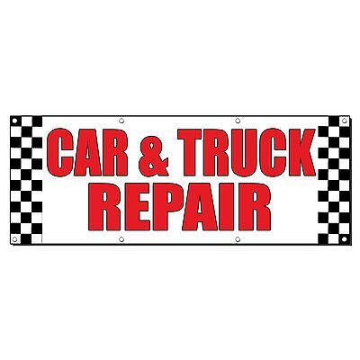 AUTO DETAILING CAR AUTO BODY SHOP REPAIR Sign Banner 2/' x 4/' w// 4 Grommets