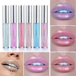 6-Farbe-wasserdicht-langlebig-Glitter-Schimmer-fluessigen-Lippenstift-Lipgloss-h