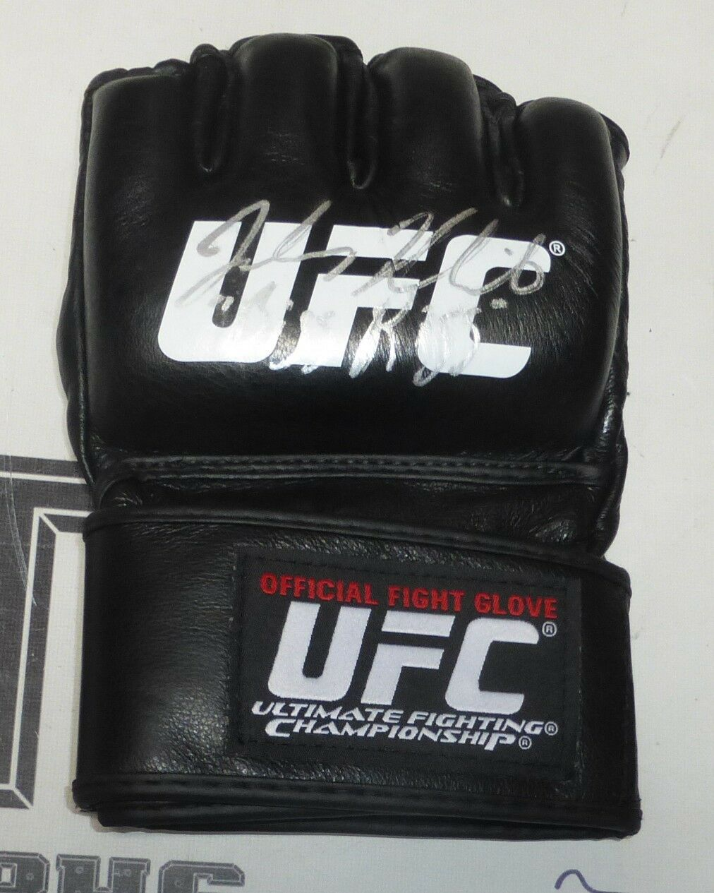Johny Hendricks Firmado UFC Oficial Fight Guante PSA DNA COA Autógrafo 167 171