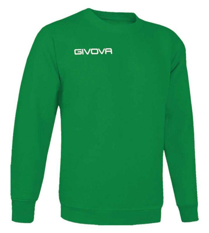 New Maglia Girocollo Givova One Sport Training Relax Comfort Unisex Uomo Donn...