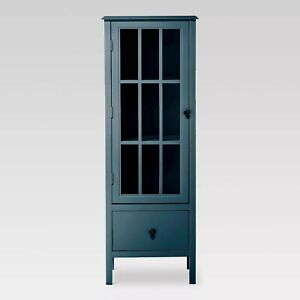 Windham-56-034-Narrow-Library-Cabinet-with-Door-Drawer-Threshold
