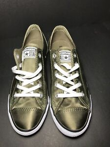 d17cf92d4fb8 Converse Chuck Taylor All Star Dainty OX Women s Shoes Medium Olive ...