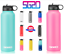 Hydro-Stainless-Steel-18-32-40-oz-Water-Bottle-Flask-Insulated-Wide-Mouth-Lid thumbnail 1