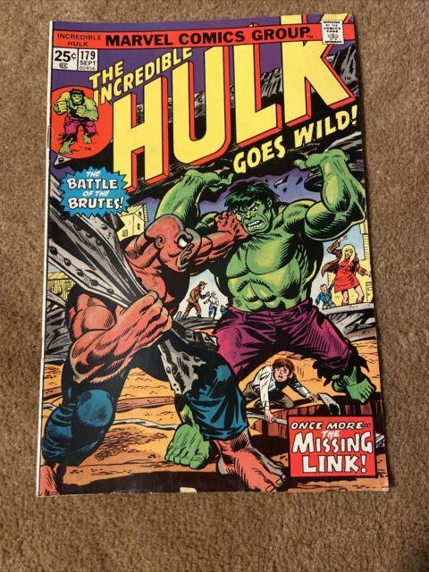 The Incredible Hulk Goes Wild #179 (September 1974, Marvel)