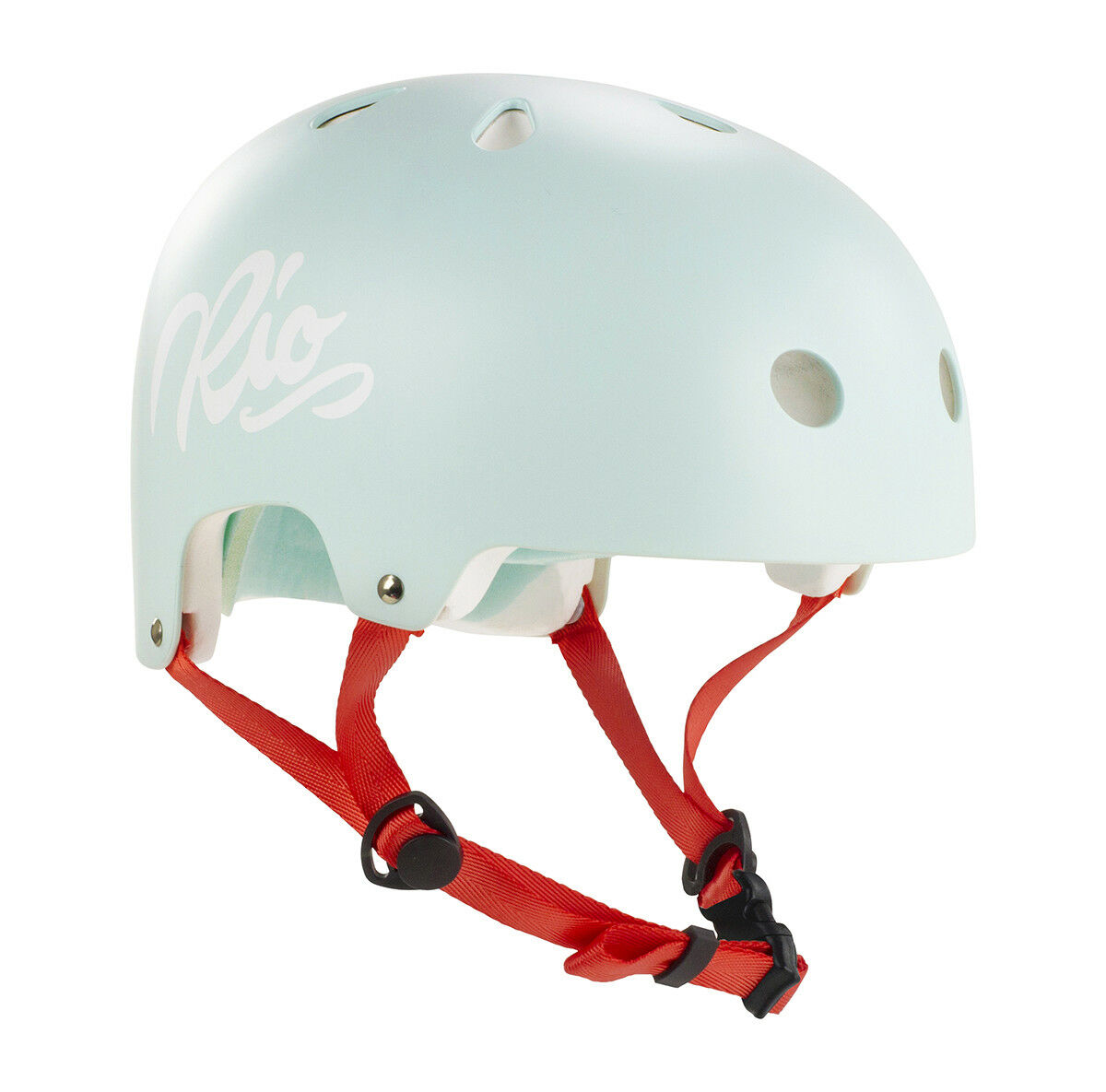 Rio Roller Roller Roller Schriftzug Skating Helm - türkis 615ceb