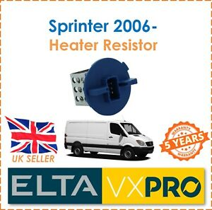 Fuer-Sprinter-3-5-t-906-310-311-313-2006-Elta-Innenraum-Heizungsgeblaese-Widerstand