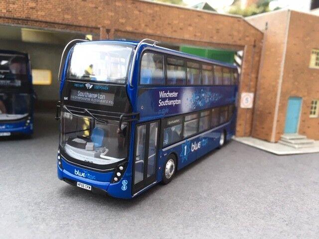 Northcord bleustar Autobus Alexander Dennis E400H MMC UKB6507 B Southampton