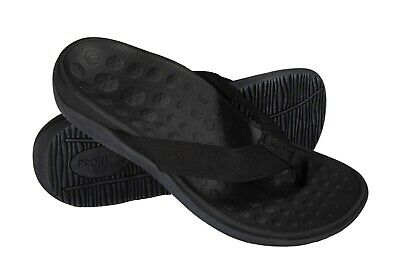Pro 11 wellbeing Black Orthotic sandals