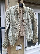 Corset Gilet Vétement féminin d'époque 19 ème soie Costume textile