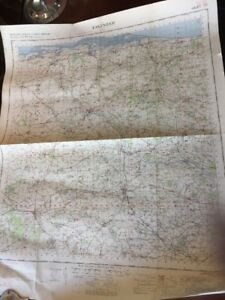 VINTAGE-ORDNANCE-SURVEY-OF-GREAT-BRITAIN-FAKENHAM-MAP