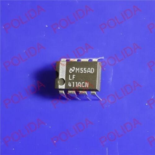 5PCS JFET OPERATIONAL AMPLIFIER IC NSC DIP-8 LF411ACN LF411ACN//NOPB