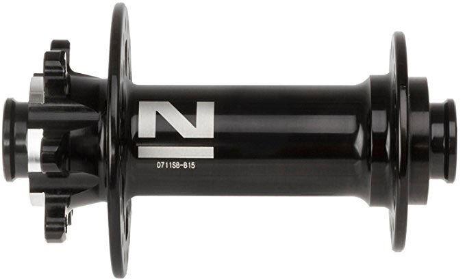 Novatec Mozzo Superlight Boost anteriore 32 fori nero Boost perno 15mm