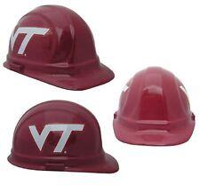 "Virginia Tech ""HOKIES"" NCAA Football Helmet Hard Hat  ANSI/OSHA Approved"