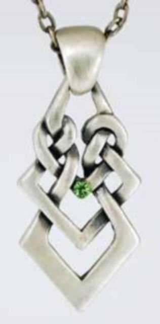 Celtic Knot Necklace ~~ 25 % off ~~ LESS THAN $10.00 !!