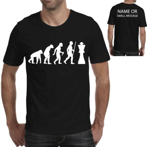 Evolution of Chess Funny Printed T shirt