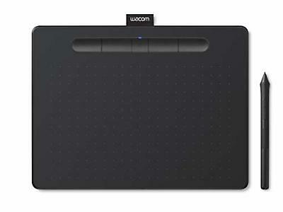 Computers/tablets & Networking Graphics Tablets/boards & Pens Learned Wacom Pen Tablet Wacom Intuos Medium Wireless Black Tctl6100wl/k0 F/s W/track# Attractive And Durable