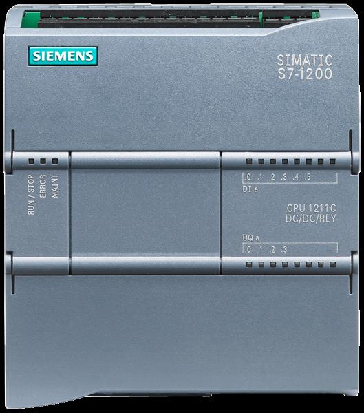 SIEMENS SIMATIC CPU 1211C DC/DC/DC 6ES7211-1AE40-0XB0