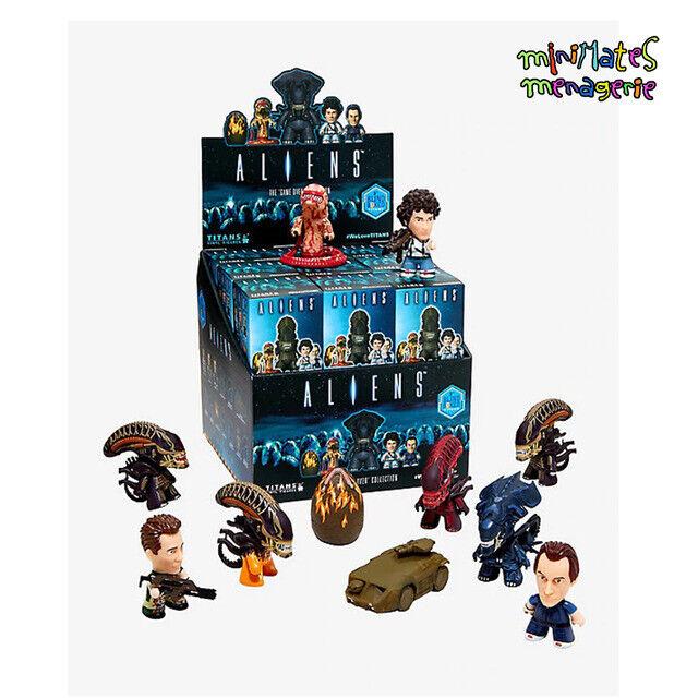 Titans Aliens Juego Over Precintado Funda de 18 Azar Caja Persiana 3  Figuras