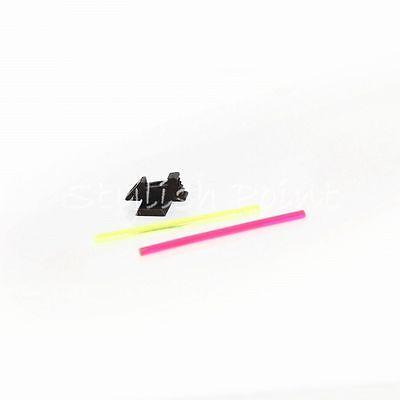Airsoft Gear 5KU Glow Fiber Front Sight Type 2 for Marui Hi-Capa GBB Pistol